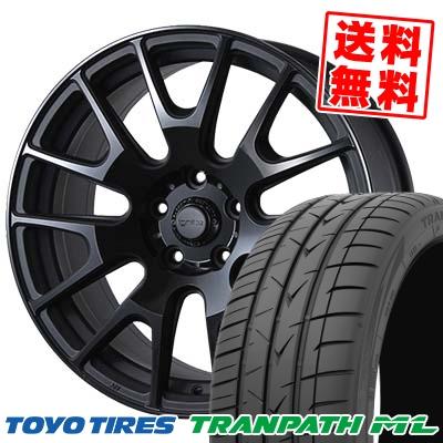 215/60R17 TOYO TIRES トーヨー タイヤ TRANPATH ML トランパスML IGNITE XTRACK イグナイト エクストラック サマータイヤホイール4本セット