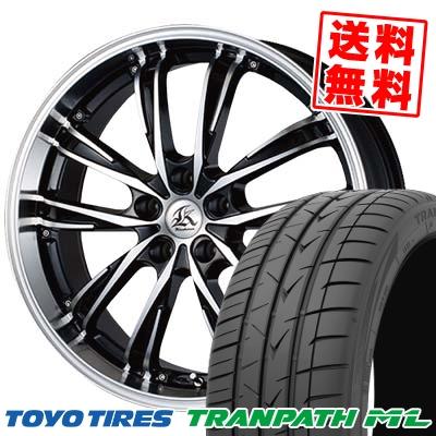 205/50R17 TOYO TIRES トーヨー タイヤ TRANPATH ML トランパスML Kashina XV5 カシーナ XV5 サマータイヤホイール4本セット