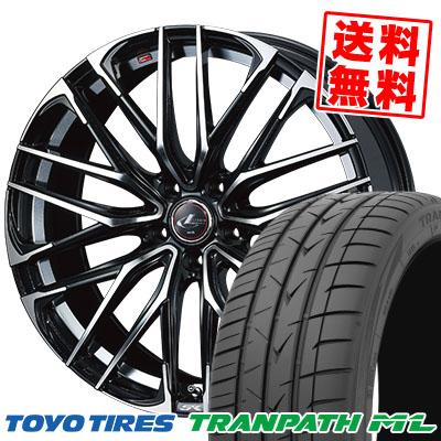 215/60R16 95H TOYO TIRES トーヨー タイヤ TRANPATH ML トランパスML WEDS LEONIS SK ウェッズ レオニス SK サマータイヤホイール4本セット