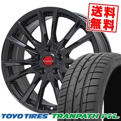 195/65R15 TOYO TIRES トーヨー タイヤ TRANPATH ML トランパスML LeyBahn GBX レイバーン GBX サマータイヤホイール4本セット