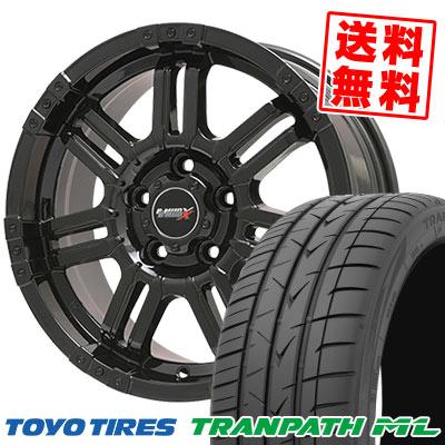 205/65R16 95H TOYO TIRES トーヨー タイヤ TRANPATH ML トランパスML B-MUD X Bマッド エックス サマータイヤホイール4本セット
