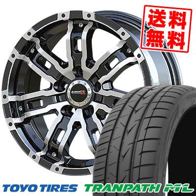 205/65R16 95H TOYO TIRES トーヨー タイヤ TRANPATH ML トランパスML B-MUD Z Bマッド ゼット サマータイヤホイール4本セット