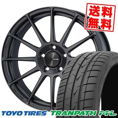 215/60R17 TOYO TIRES トーヨー タイヤ TRANPATH ML トランパスML ENKEI PF03 エンケイ PF03 サマータイヤホイール4本セット