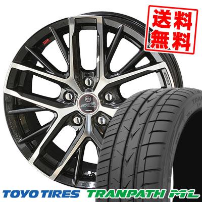 205/65R16 95H TOYO TIRES トーヨー タイヤ TRANPATH ML トランパスML SMACK REVILA スマック レヴィラ サマータイヤホイール4本セット