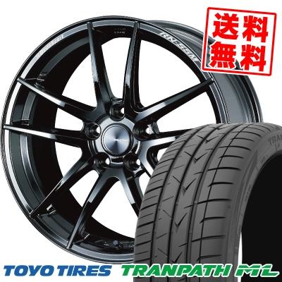 225/40R19 93W XL TOYO TIRES トーヨー タイヤ TRANPATH ML トランパスML WedsSport RN-55M ウェッズスポーツ RN-55M サマータイヤホイール4本セット