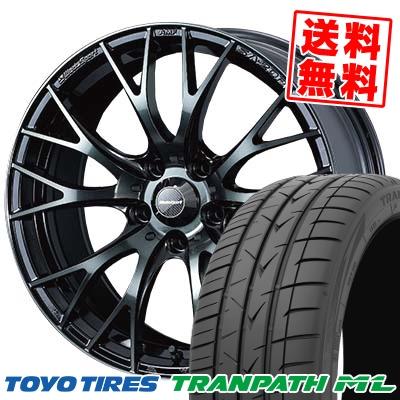 205/60R16 TOYO TIRES トーヨー タイヤ TRANPATH ML トランパスML WedsSport SA-20R ウェッズスポーツ SA20R サマータイヤホイール4本セット