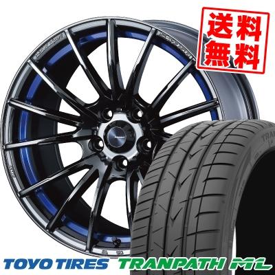 225/40R18 92W XL TOYO TIRES トーヨー タイヤ TRANPATH ML トランパスML WedsSport SA-35R ウェッズスポーツ SA-35R サマータイヤホイール4本セット【取付対象】