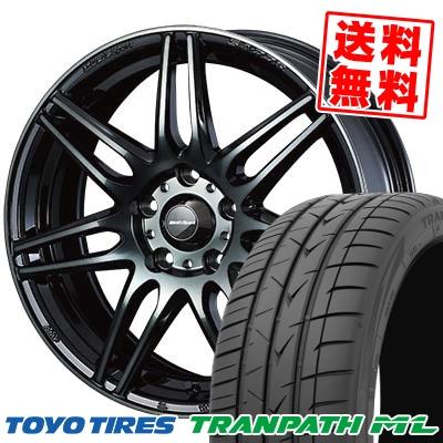 205/60R16 92H TOYO TIRES トーヨー タイヤ TRANPATH ML トランパスML wedsSport SA-77R ウェッズスポーツ SA-77R サマータイヤホイール4本セット