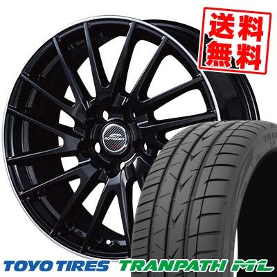 205/65R15 94H TOYO TIRES トーヨー タイヤ TRANPATH ML トランパスML SCHNEIDER Saber Rondo シュナイダー セイバーロンド サマータイヤホイール4本セット