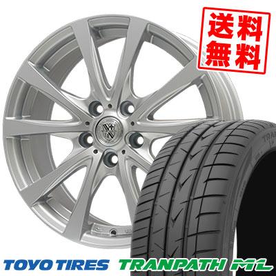 205/65R15 94H TOYO TIRES トーヨー タイヤ TRANPATH ML トランパスML TRG-SILBAHN TRG シルバーン サマータイヤホイール4本セット