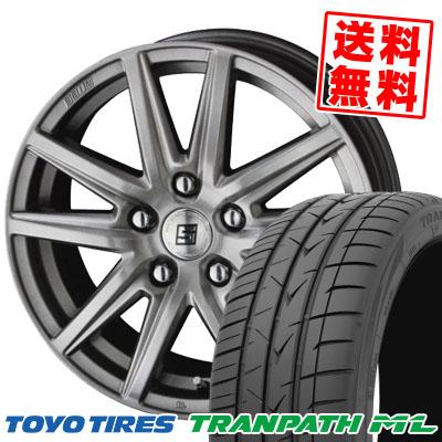 225/45R18 95W XL TOYO TIRES トーヨー タイヤ TRANPATH ML トランパスML SEIN SS ザイン エスエス サマータイヤホイール4本セット