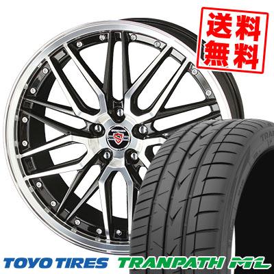 225/40R18 92W XL TOYO TIRES トーヨー タイヤ TRANPATH ML トランパスML STEINER LMX シュタイナー LMX サマータイヤホイール4本セット【取付対象】