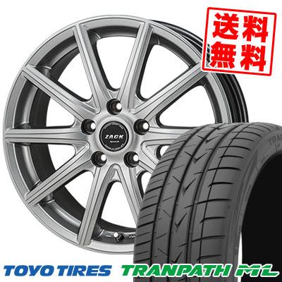 205/65R15 94H TOYO TIRES トーヨー タイヤ TRANPATH ML トランパスML ZACK SPORT-01 ザック シュポルト01 サマータイヤホイール4本セット
