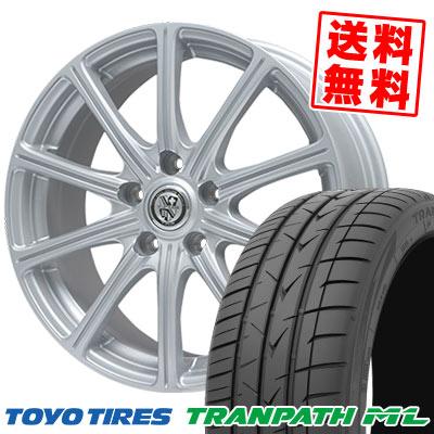 225/50R18 95V TOYO TIRES トーヨー タイヤ TRANPATH ML トランパスML TRG-SS10 TRG SS10 サマータイヤホイール4本セット