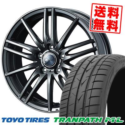 195/65R15 91H TOYO TIRES トーヨー タイヤ TRANPATH ML トランパスML Zamik Tito ザミック ティート サマータイヤホイール4本セット