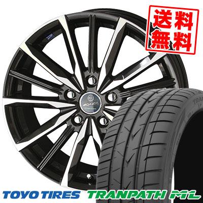 205/65R16 95H TOYO TIRES トーヨー タイヤ TRANPATH ML トランパスML SMACK VALKYRIE スマック ヴァルキリー サマータイヤホイール4本セット