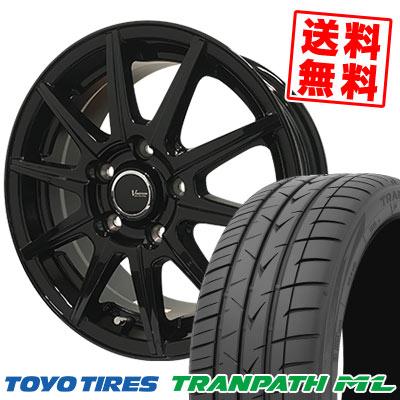 225/40R18 92W XL TOYO TIRES トーヨー タイヤ TRANPATH ML トランパスML V-EMOTION BR10 Vエモーション BR10 サマータイヤホイール4本セット