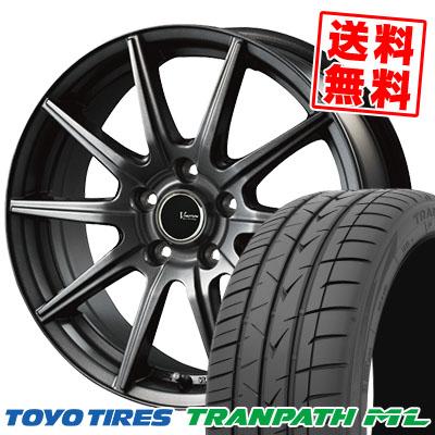 225/40R18 92W XL TOYO TIRES トーヨー タイヤ TRANPATH ML トランパスML V-EMOTION GS10 Vエモーション GS10 サマータイヤホイール4本セット