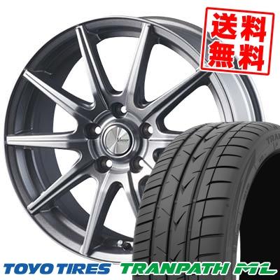 205/65R16 95H TOYO TIRES トーヨー タイヤ TRANPATH ML トランパスML V-EMOTION SR10 Vエモーション SR10 サマータイヤホイール4本セット