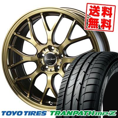 215/45R18 TOYO TIRES トーヨー タイヤ TRANPATH mpZ トランパス mpZ Eouro Sport Type 805 ユーロスポーツ タイプ805 サマータイヤホイール4本セット