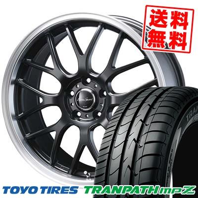 215/45R17 91W TOYO TIRES トーヨー タイヤ TRANPATH mpZ トランパス mpZ Eoro Sport Type 805 ユーロスポーツ タイプ805 サマータイヤホイール4本セット