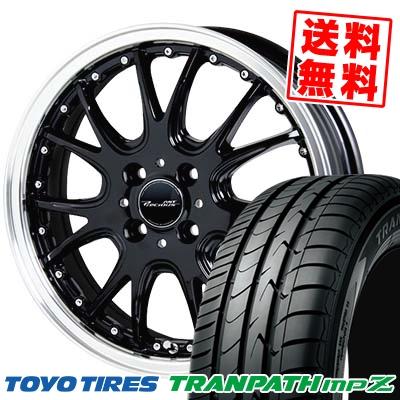 185/60R15 84H TOYO TIRES トーヨー タイヤ TRANPATH mpZ トランパス mpZ Precious AST M2 プレシャス アスト M2 サマータイヤホイール4本セット