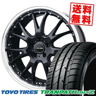 225/50R18 95V TOYO TIRES トーヨー タイヤ TRANPATH mpZ トランパス mpZ Precious AST M2 プレシャス アスト M2 サマータイヤホイール4本セット