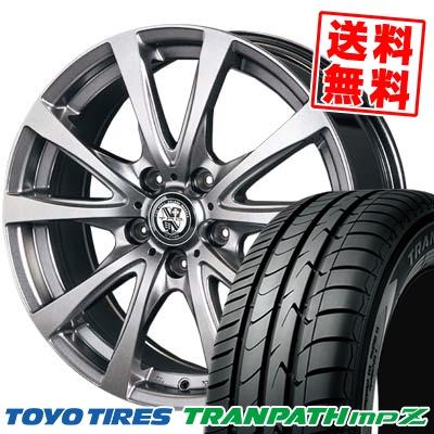 205/55R16トーヨー TRANPATH mpZ TRG-BAHN サマータイヤホイール4本セット ミニバンに最適