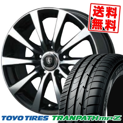 205/60R16 92H TOYO TIRES トーヨー タイヤ TRANPATH mpZ トランパス mpZ EUROSPEED BL10 ユーロスピード BL10 サマータイヤホイール4本セット