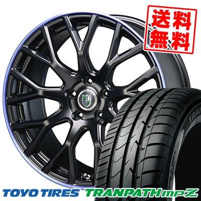 225/50R18 TOYO TIRES トーヨー タイヤ TRANPATH mpZ トランパス mpZ Bahnsport Type902 バーンシュポルト タイプ902 サマータイヤホイール4本セット