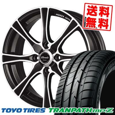 175/65R15 84H TOYO TIRES トーヨー タイヤ TRANPATH mpZ トランパス mpZ Warwic Carozza ワーウィック カロッツァ サマータイヤホイール4本セット