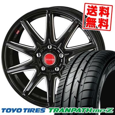 215/50R17 95V TOYO TIRES トーヨー タイヤ TRANPATH mpZ トランパス mpZ RIVAZZA CORSE リヴァッツァ コルセ サマータイヤホイール4本セット