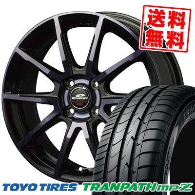 185/65R15 TOYO TIRES トーヨー タイヤ TRANPATH mpZ トランパス mpZ SCHNEIDER DR-01 シュナイダー DR-01 サマータイヤホイール4本セット