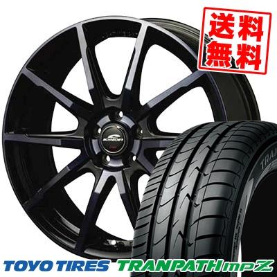 195/65R15 TOYO TIRES トーヨー タイヤ TRANPATH mpZ トランパス mpZ SCHNEIDER DR-01 シュナイダー DR-01 サマータイヤホイール4本セット