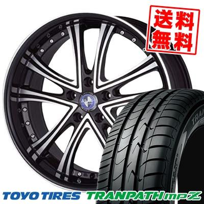 215/45R17 TOYO TIRES トーヨー タイヤ TRANPATH mpZ トランパス mpZ Warwic DS.05 ワーウィック DS.05 サマータイヤホイール4本セット