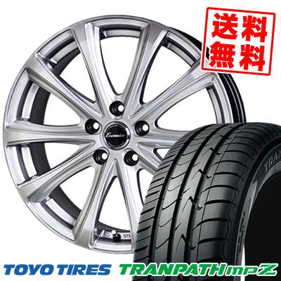 205/70R15 96H TOYO TIRES トーヨー タイヤ TRANPATH mpZ トランパス mpZ Exceeder E04 エクシーダー E04 サマータイヤホイール4本セット