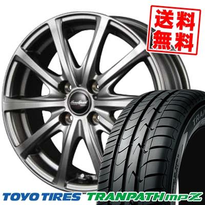 175/60R15 TOYO TIRES トーヨー タイヤ TRANPATH mpZ トランパス mpZ EuroSpeed V25 ユーロスピード V25 サマータイヤホイール4本セット