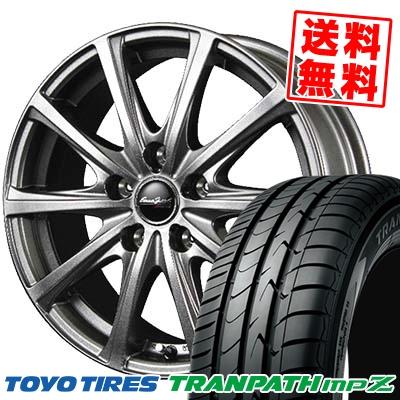 225/45R18 TOYO TIRES トーヨー タイヤ TRANPATH mpZ トランパス mpZ EuroSpeed V25 ユーロスピード V25 サマータイヤホイール4本セット