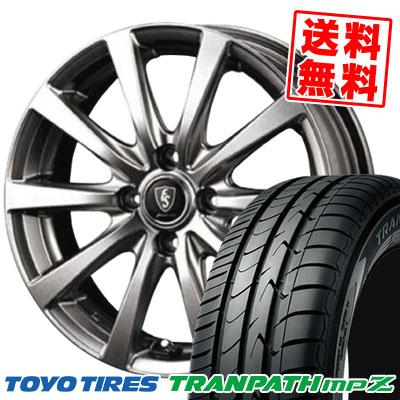 195/65R14 89H TOYO TIRES トーヨー タイヤ TRANPATH mpZ トランパスmpZ Euro Speed G10 ユーロスピード G10 サマータイヤホイール4本セット