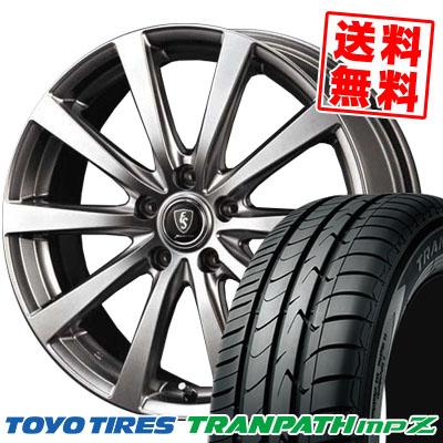 215/60R16 95H TOYO TIRES トーヨー タイヤ TRANPATH mpZ トランパスmpZ Euro Speed G10 ユーロスピード G10 サマータイヤホイール4本セット
