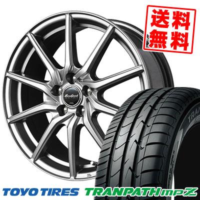 235/50R18 101V TOYO TIRES トーヨー タイヤ TRANPATH mpZ トランパス mpZ EuroSpeed G810 ユーロスピード G810 サマータイヤホイール4本セット