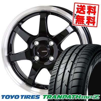 175/60R15 81H TOYO TIRES トーヨー タイヤ TRANPATH mpZ トランパス mpZ G.speed P-03 ジースピード P-03 サマータイヤホイール4本セット