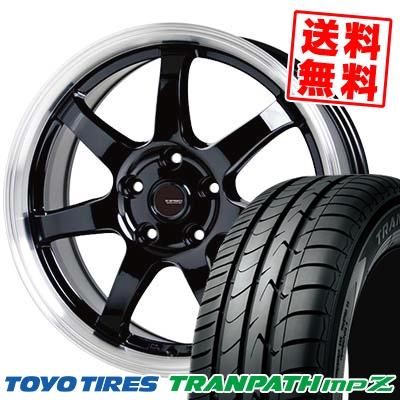 225/55R18 98V TOYO TIRES トーヨー タイヤ TRANPATH mpZ トランパス mpZ G.speed P-03 ジースピード P-03 サマータイヤホイール4本セット