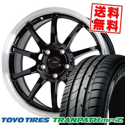 215/70R15 98H TOYO TIRES トーヨー タイヤ TRANPATH mpZ トランパス mpZ G.speed P-04 ジースピード P-04 サマータイヤホイール4本セット
