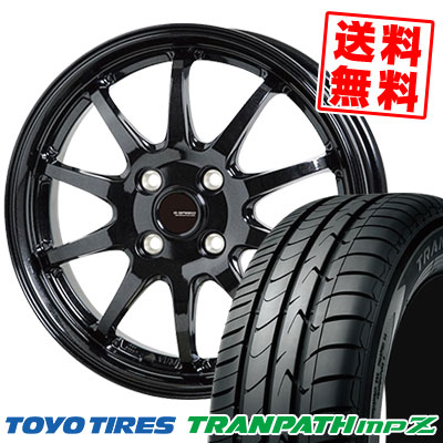175/60R15 81H TOYO TIRES トーヨー タイヤ TRANPATH mpZ トランパス mpZ G.speed G-04 Gスピード G-04 サマータイヤホイール4本セット