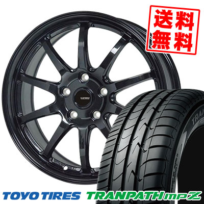 225/50R18 95V TOYO TIRES トーヨー タイヤ TRANPATH mpZ トランパス mpZ G.speed G-04 Gスピード G-04 サマータイヤホイール4本セット