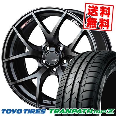 205/50R17 93V TOYO TIRES トーヨータイヤ TRANPATH mpZ トランパス mpZ SSR GTV03 SSR GTV03 サマータイヤホイール4本セット