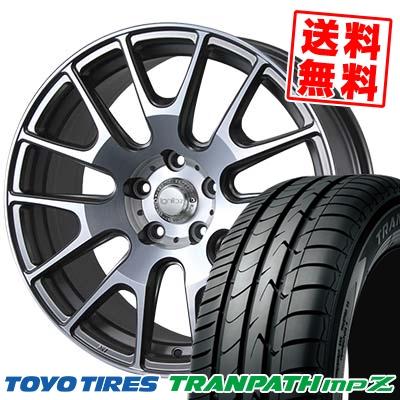 225/50R18 TOYO TIRES トーヨー タイヤ TRANPATH mpZ トランパス mpZ IGNITE XTRACK イグナイト エクストラック サマータイヤホイール4本セット