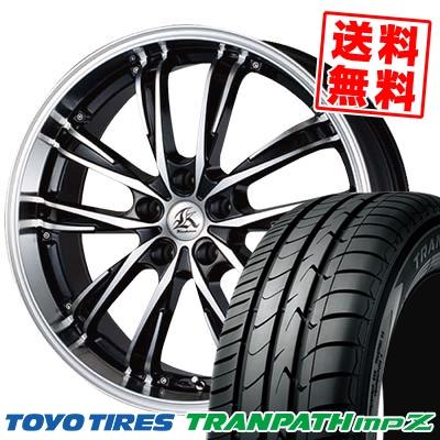 225/50R17 TOYO TIRES トーヨー タイヤ TRANPATH mpZ トランパス mpZ Kashina XV5 カシーナ XV5 サマータイヤホイール4本セット