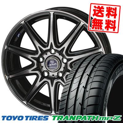 205/55R16 TOYO TIRES トーヨー タイヤ TRANPATH mpZ トランパス mpZ SMACK LAVINE スマック ラヴィーネ サマータイヤホイール4本セット